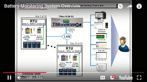 Video on remote battery monitoring