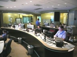 T/Mon NOC Maintains Visibility at this NOC Center...