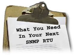 Get The Most From Your SNMP RTU...