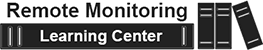 Remote Monitoring Learning Center logo