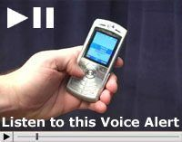 Autodialer voice sample alarm demonstration