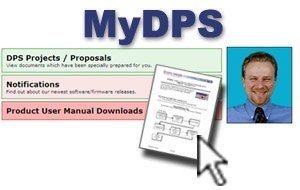 Sign up for MyDPS now...