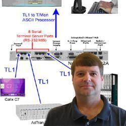 CO Tech Jim Eddins and Silver Star's Application Diagram